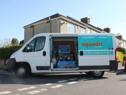 Aquadri van fitted with the latest Prochem Blazer cleaning equipment