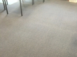 The carpets look like new after we apply our cleaning expertise to them!