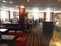 Bristol hotel bar area with clean carpets